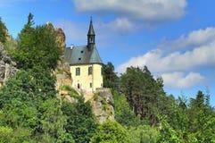 Vranov castle in Czech republic Stock Images