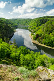 Vranov Dam on the river Thaya Royalty Free Stock Photography