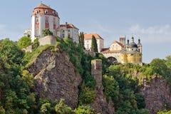 Vranov nad Dyji. Castle Vranov nad Dyji ic Czech Republic Royalty Free Stock Photography
