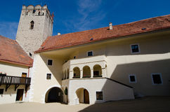 Vranov nad Dyji castle. Czech republic Stock Photo