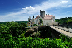 Vranov nad Dyji castle, Czech republic Royalty Free Stock Images