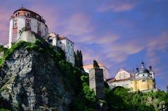 Vranov nad Dyji castle Stock Photo