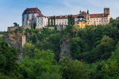 Vranov nad Dyji castle Stock Photography