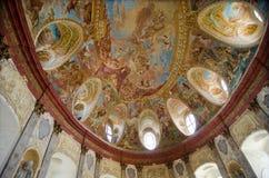 Vranov nad Dyji castle. Interior of Vranov nad Dyji castle, Czech republic Royalty Free Stock Photo
