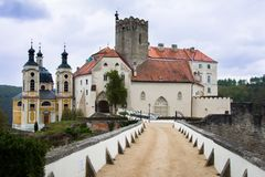 Vranov nad Dyji, CZ Royalty Free Stock Images