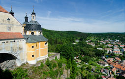 Vranov nad Dyji, Czech republic royalty free stock images
