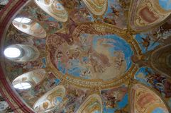 Vranov NAD Dyji, République Tchèque photos stock