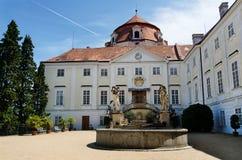 Vranov nad Dyji, república checa Imagens de Stock Royalty Free
