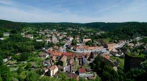 Vranov nad Dyji, república checa Imagem de Stock