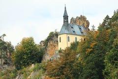 Vranov-Schloss Stockfotos