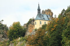 Vranov slott Arkivfoton