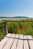 Vransko Lake. Photo of Vransko Lake, ornithological reserve in Croatia Royalty Free Stock Images