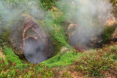 Vrata Ada Gate Hell Geyser in Valley of Geysers. Stock Photography