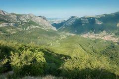 Vratsata Pass In The Balkan Mountain, Bulgaria. Vratsata Pass in The Balkan Mountain range Stara planina, Bulgaria stock image
