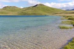 Vrazje jezero i nationalparken Durmitor i Montenegro Royaltyfria Bilder