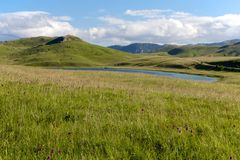 Vrazje jezioro w parku narodowym Durmitor w Montenegro Obraz Stock