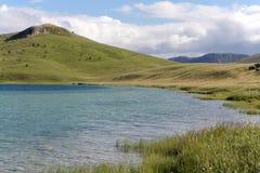 Vrazje sjö i nationalparken Durmitor i Montenegro Royaltyfri Bild