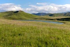 Vrazje sjö i nationalparken Durmitor i Montenegro Fotografering för Bildbyråer