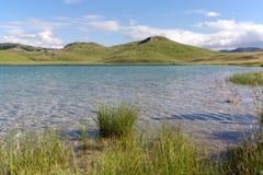 Vrazje sjö i nationalparken Durmitor i Montenegro Arkivfoto
