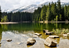 Vrbicke lake in Tatra mountains. Slovakia Stock Image