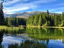 Vrbicke pleso Vrbicke mountain lake Low Tatras Slovakia Stock Image