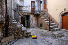 Vrbnik city center old house. Stock Photos
