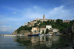 Vrbnik on island of Krk Stock Images