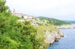 Vrbnik, Krk island, Croatia Stock Images