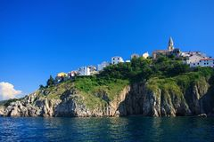 Vrbnik on Krk island Royalty Free Stock Photo