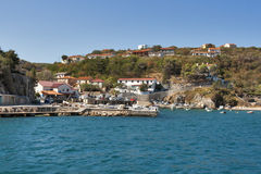 Vrbnik town, Croatia Stock Photo