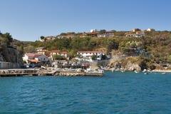 Vrbnik town, Croatia Stock Photo
