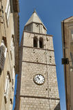 Vrbnik town hall, Croatia Royalty Free Stock Photography