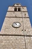Vrbnik town hall, Croatia Stock Photos