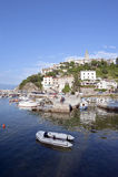 Vrbnik Town Krk Island Croatia Stock Image