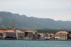 vrboska της Κροατίας Στοκ φωτογραφία με δικαίωμα ελεύθερης χρήσης