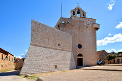 Free Vrboska Church Fortress Stock Photos - 46235253