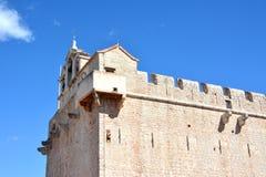 Vrboska church fortress detail Stock Photos