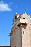 Vrboska church fortress detail Royalty Free Stock Photos