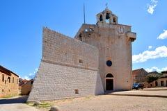 Vrboska church fortress Stock Photos