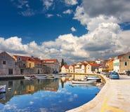 Vrboska, Croatie Photographie stock