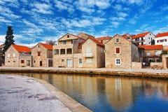 Vrboska, Croatie Image stock