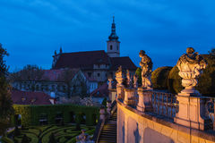 Vrbovska-Garten lizenzfreies stockfoto
