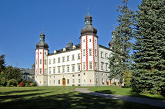The Vrchlabi castle Stock Photos