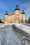 Vrchlabi castle in Czech republic Royalty Free Stock Image