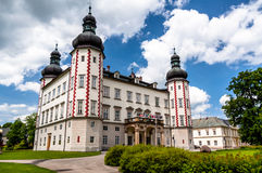 Vrchlabi Castle entrance, Czech Republic Stock Image