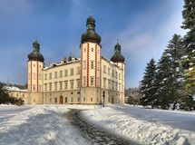 Vrchlabi manor in Czech republic Royalty Free Stock Images