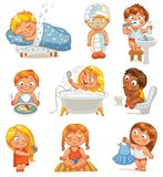 Vård- och hygien Royaltyfria Bilder