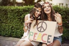 Vrede! Stock Fotografie