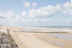 Vrede bij het strand Royalty-vrije Stock Afbeeldingen