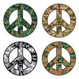 Vrede Camos Royalty-vrije Stock Afbeeldingen